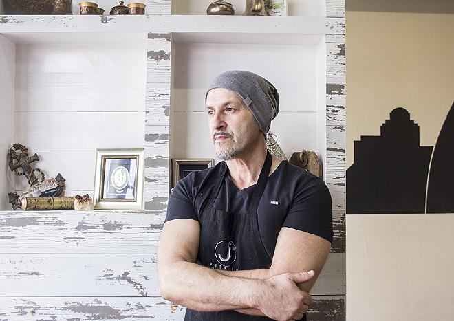 Chef-owner Zamir Jahic. - MABEL SUEN