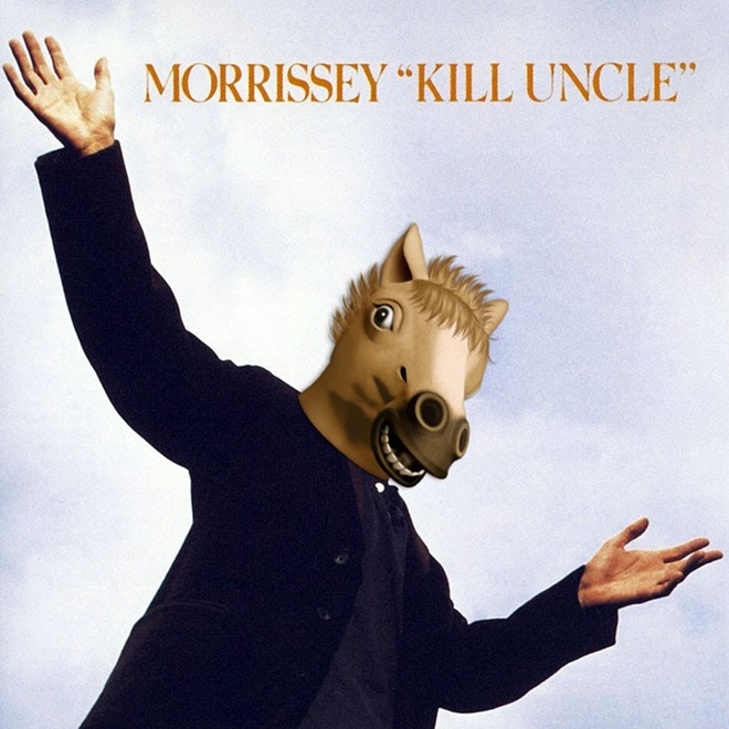 "This would be a more accurate cover for Morrissey's ""Kill Uncle"" album"