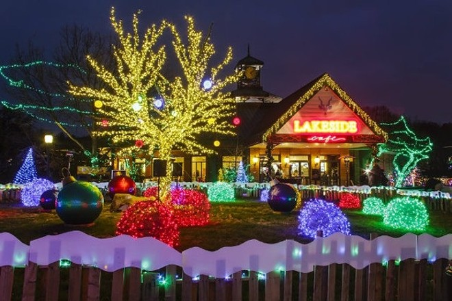 Zoo lights are here! - ROGER BRANDT/ST. LOUIS ZOO