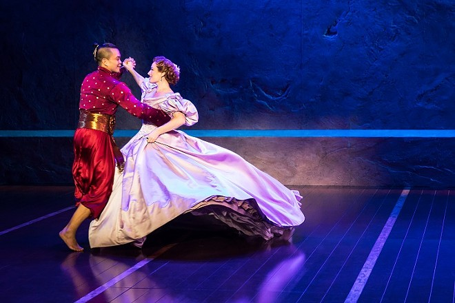 """Perhaps Rodgers and Hammerstein's greatest song: """"Shall We Dance?"""" See it at the Fox Theater beginning November 28. - MATTHEW MURPHY"""