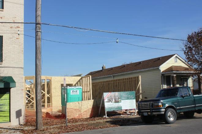 Alderman Joseph Vollmer is asking for abatements for four townhouses under construction on the Hill. - SARAH FENSKE