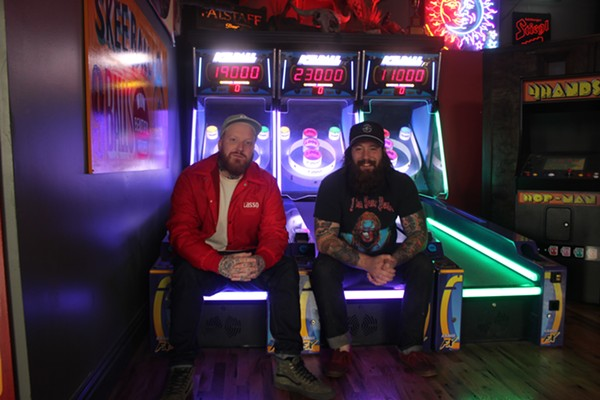 Sean Baltzell, owner, and Casey Colgan, bar manager - PHOTO BY MELISSA BUELT