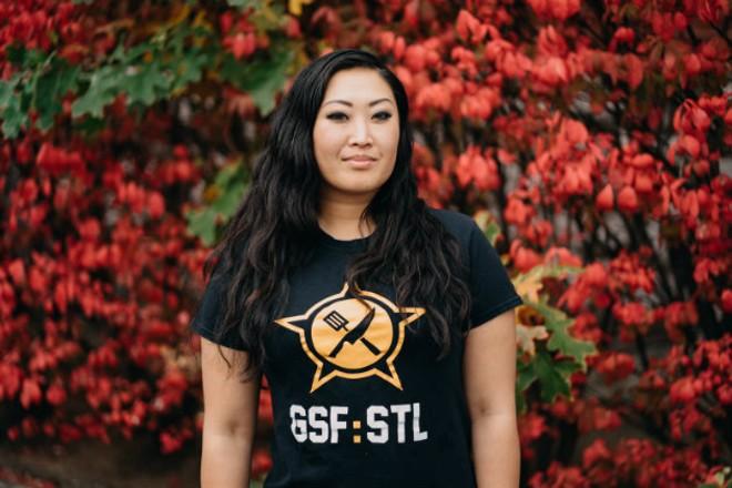 Heidi Hamamua found her home at Guerrilla Street Food. - VIRGINIA HAROLD