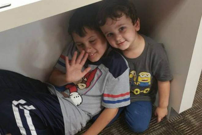 Caleb Lee (left) was killed on his way home from vacation. - IMAGE VIA GOFUNDME