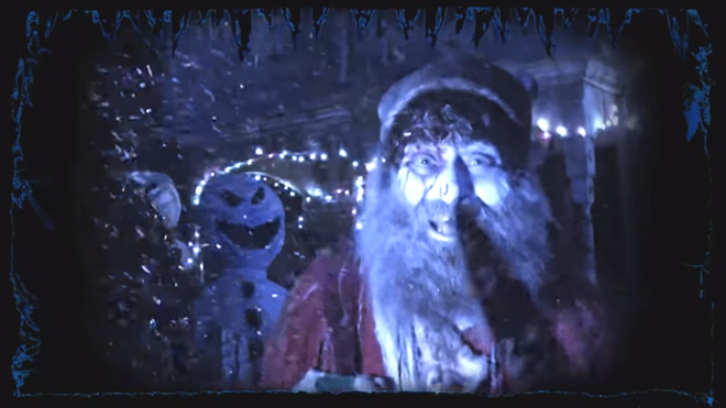 Just one of the characters you'll encounter at the Darkness' new Christmas event. - SCREENSHOT FROM THE VIDEO BELOW