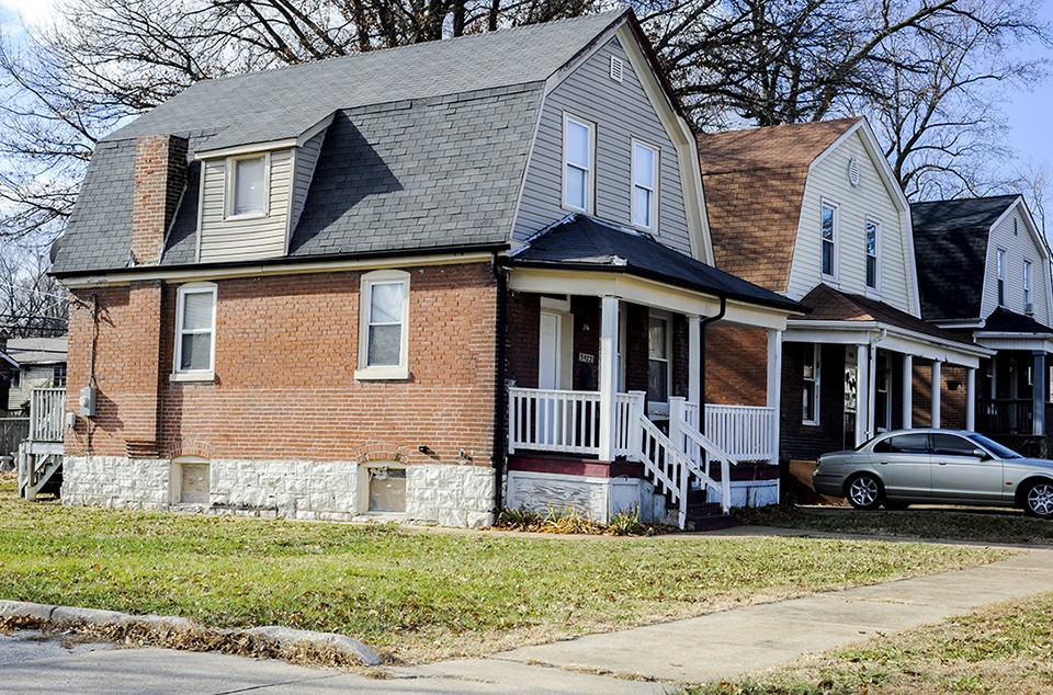 Eltoreon Hawkins acquired this home through the city's Mow to Own program. - KELLY GLUECK