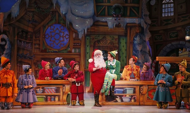 Elf the Musical opens this week at the Peabody Opera House. - CHRIS BENNION