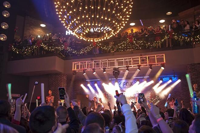 NYE Live! takes over five venues inside Ballpark Village. - MICAH USHER