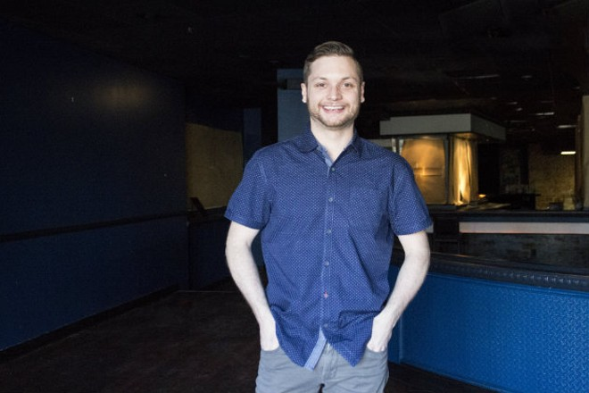 Adam Altnether wants guests to relax and have a good time at the forthcoming Elmwood. - SARA BANNOURA