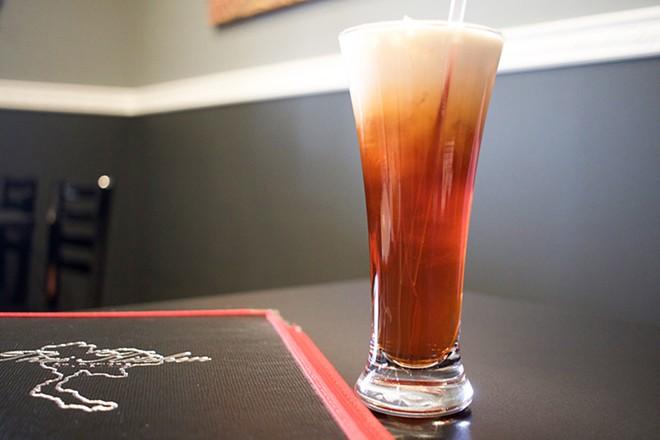 Thai iced tea. - CHERYL BAEHR