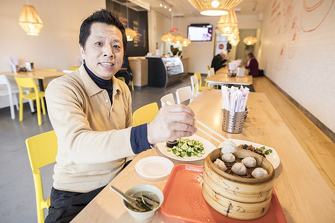 Lawrence Chen entered the city's coterie of top chefs with Private Kitchen. - MABEL SUEN