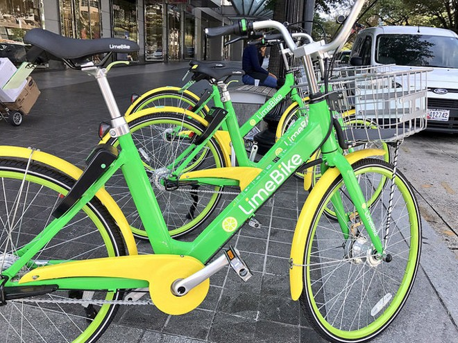 Dockless bike-sharing company LimeBike is one of several active in Washington D.C.. Is St. Louis next? - COURTESY OF FLICKR/JOE FLOOD
