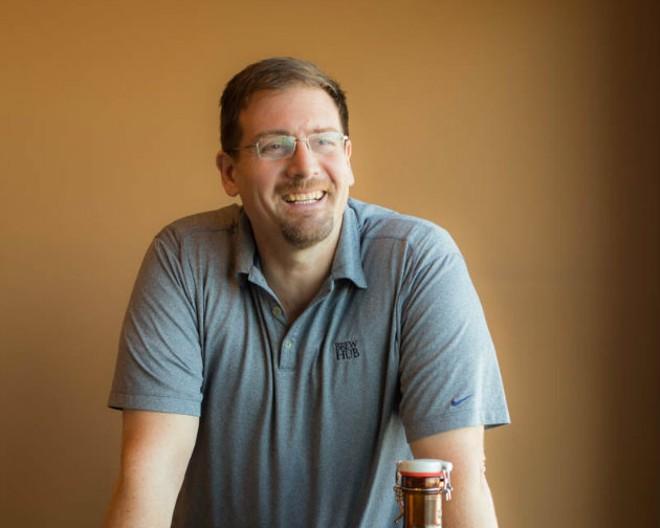 "Jim ""Otto"" Ottolini is bringing his vast brewing knowledge to Brew Hub. - MONICA MILEUR"