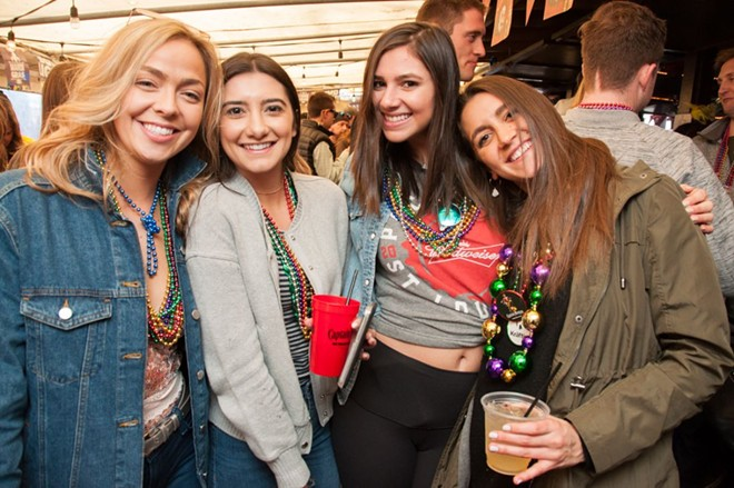 Get ready for all the fun at this year's Mardi Gras festivities — with parties that kick off this weekend. - MICAH USHER