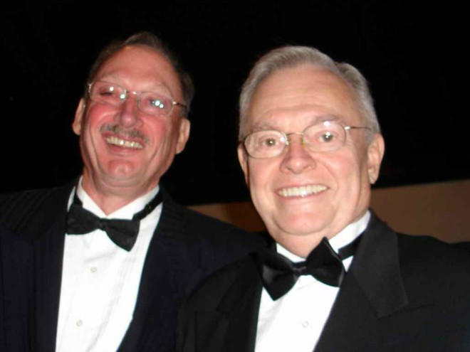 Bill Parker, left, and Ed Gentzler were married in 2009. - COURTESY OF ACLU