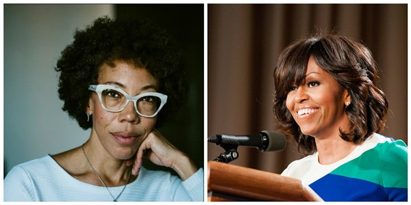 Amy Sherald, left, was chosen to create the official portrait of former First Lady Michelle Obama. - COURTESY OF CAM AND FLICKR/USDAGOV