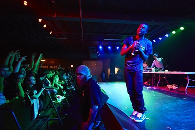 Vince Staples will perform at the Pageant on Wednesday, March 7. - PHOTO BY THEO WELLING