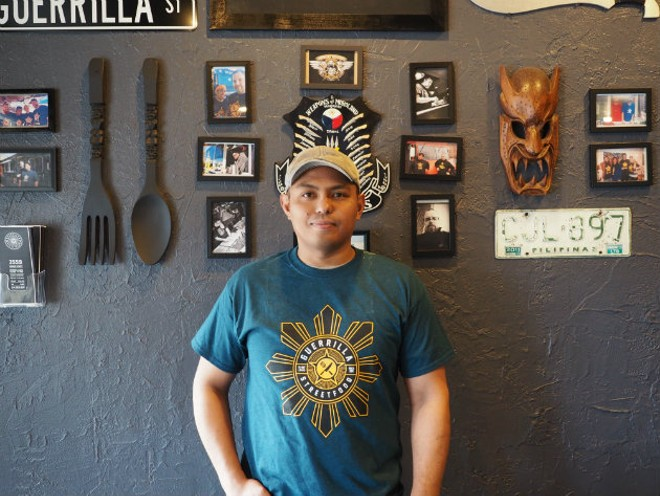 Nowell Gata is reconnecting with his roots at Guerrilla Street Food. - AMY DONKEL