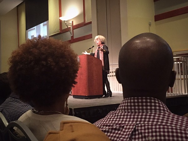 Angela Davis at Saint Louis University, February 14, 2018 - JAIME LEES