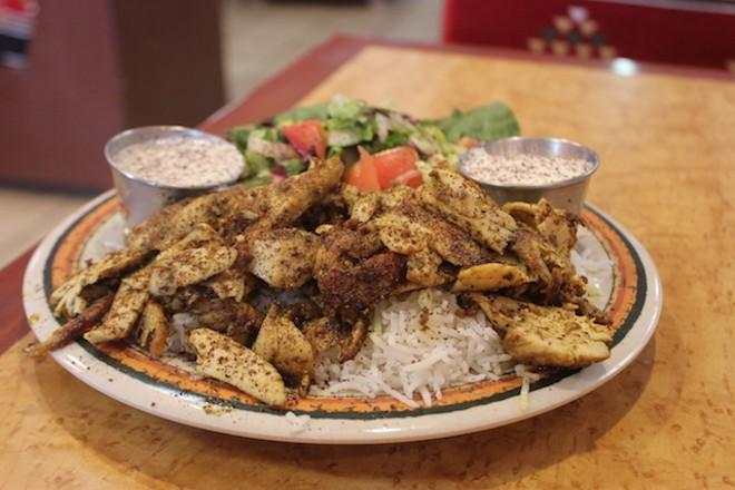 Chicken shawarma. - SARAH FENSKE