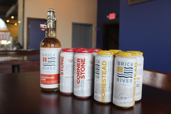 You can also find Brick River's products at a beverage store near you. - SARAH FENSKE