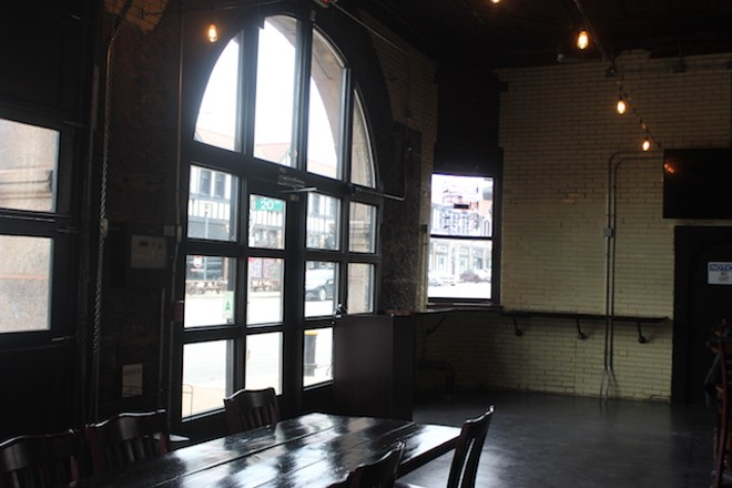 The building's roots are evident in the arched window facing Washington Avenue. - SARAH FENSKE
