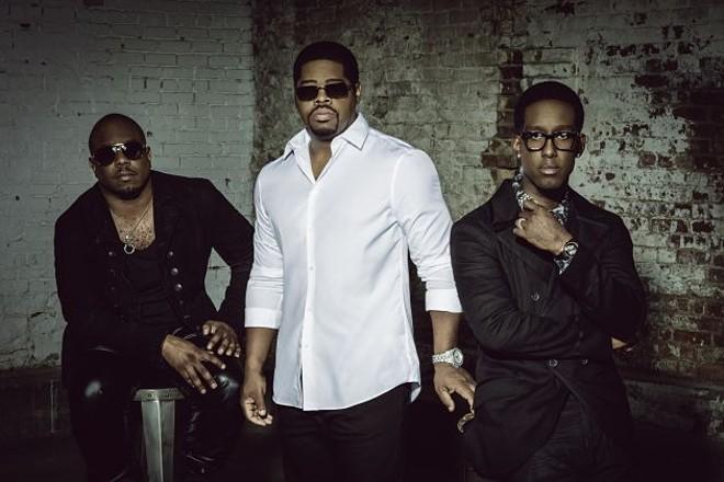 Boyz II Men, auditory aphrodisiacs. - PRESS PHOTO