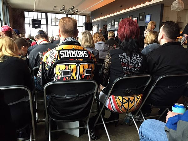 Kiss Army from the back - PHOTO BY JAIME LEES