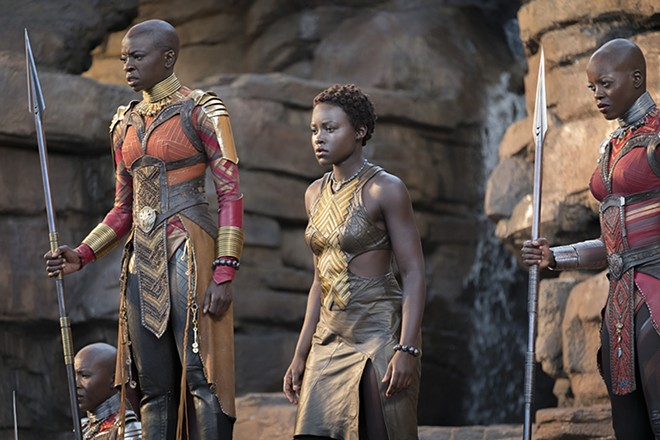 Nakia (Lupita Nyong'o) wants to use the nation's resources to help outsiders. - © 2017 - DISNEY/MARVEL STUDIOS