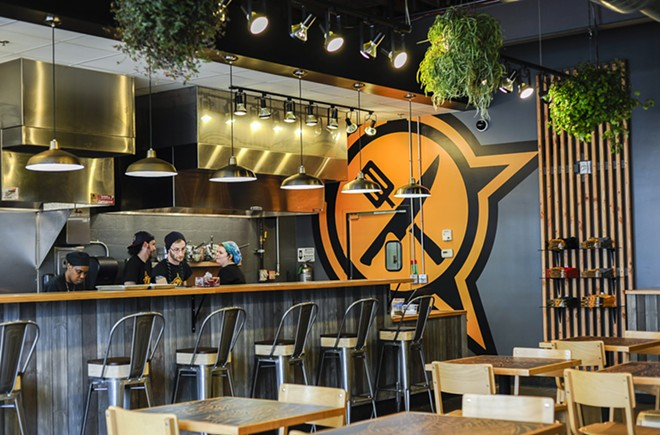 The new Loop location of Guerilla Street Food is now open for business. - KELLY GLUECK