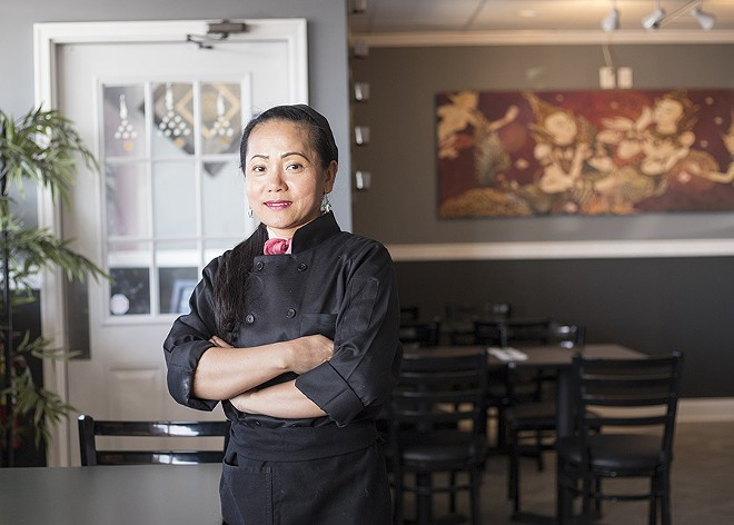 Chef Andie Ongartsutthikue. - MABEL SUEN
