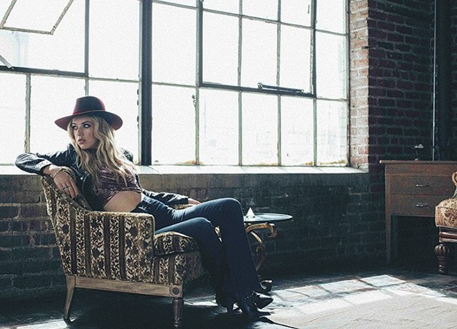 ZZ Ward will perform at Delmar Hall on Sunday, June 17. - PHOTO VIA HOLLYWOOD RECORDS