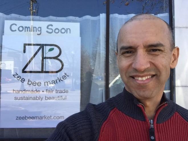 Julio Zegarra-Ballon. - COURTESY OF ZEE BEE MARKET