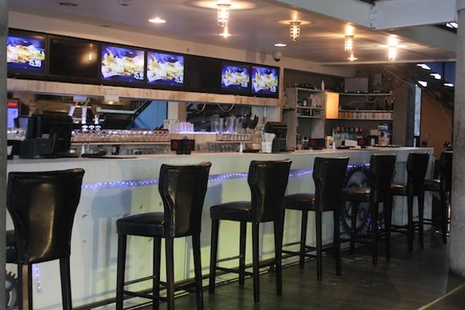 The bar. - SARAH FENSKE