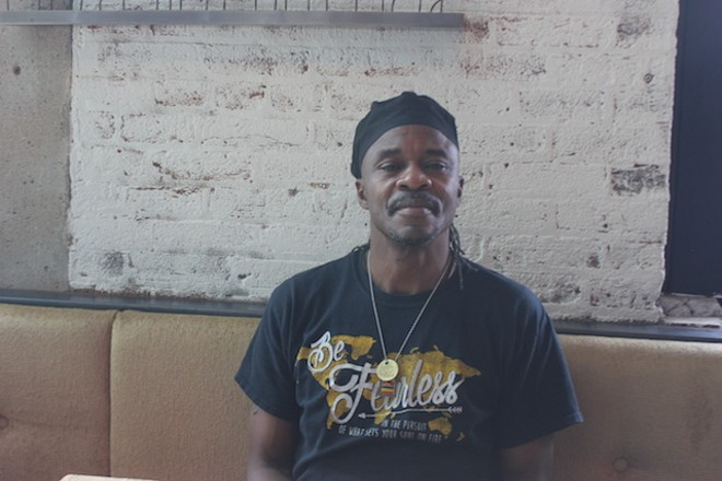 Sous chef Kannuh Hagans hails from Trinidad — and he's a pro with jackfruit. - SARAH FENSKE