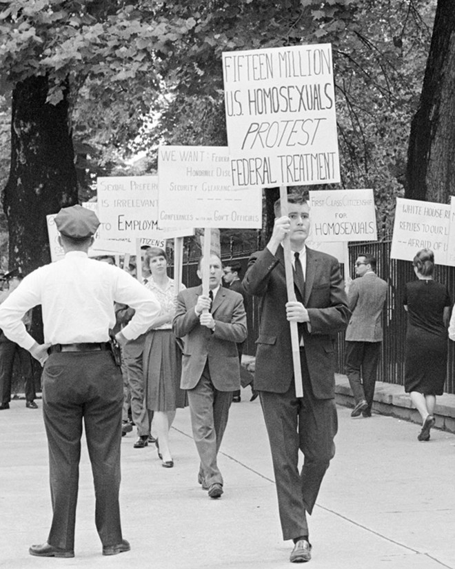 Lavender Scare is about a past president's attacks on the LGBT community. - COURTESY OF CINEMA ST. LOUIS