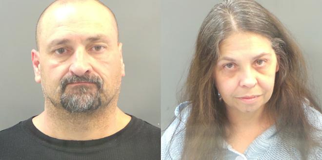Alleged brisket thieves Darin Nosser and Suzanne Kvernplassen.