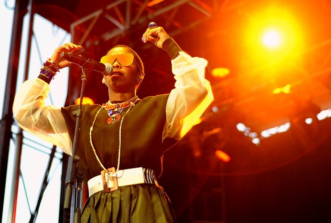 Ms. Lauryn Hill will perform at the Chaifetz Arena on Friday, October 5. - KELLY GLUECK
