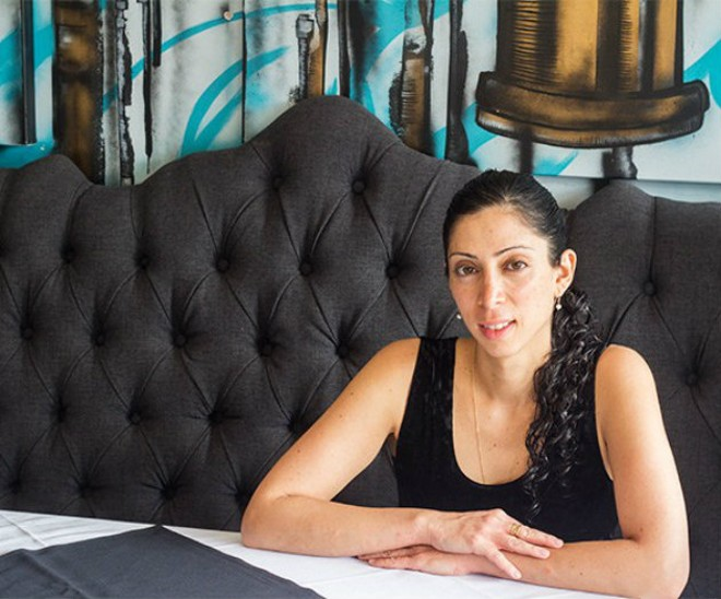 Natasha Bahrami is St. Louis' gin ambassador. - MABEL SUEN