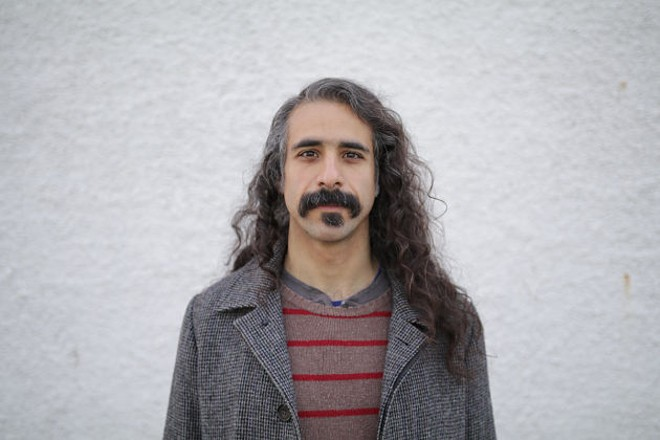 Yazan will perform at the Sinkhole this Sunday at 8 p.m. - VIA ARTIST BANDCAMP