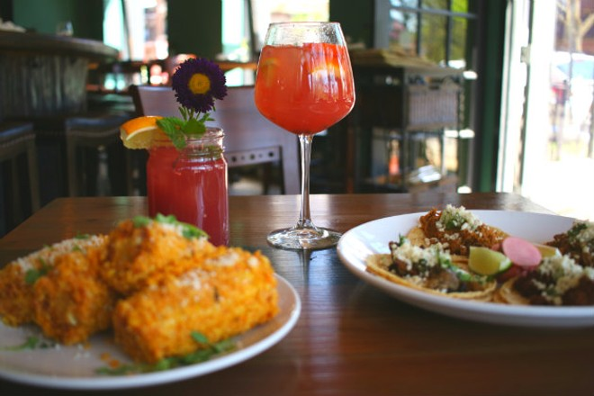 Shared plates and cocktails make for a relaxed, convivial atmosphere. - CHERYL BAEHR