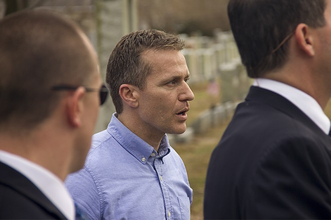 Governor Eric Greitens - DANNY WICENTOWSKI