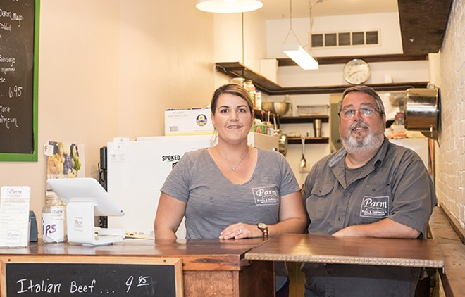 Co-owners Diane Maijala and Sal D'Ippolito keep it all in the family. - MABEL SUEN