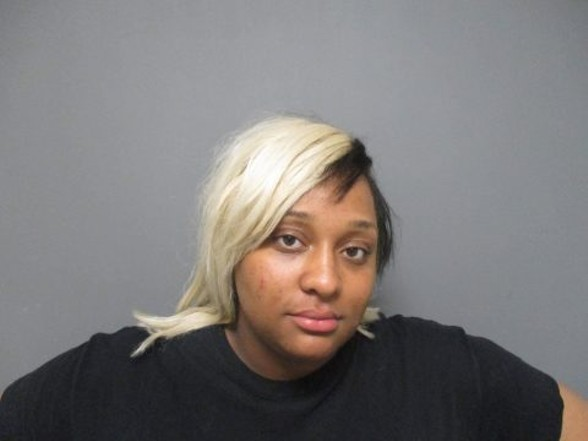 Janae Killion is accused of pepper spraying a pregnant woman and toddler. - COURTESY FAIRVIEW HEIGHTS POLICE