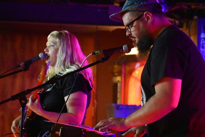Bruiser Queen performing at Blueberry Hill's Duck Room Friday. - DANIEL HILL
