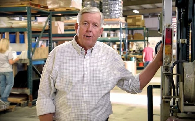 Your new governor, Mike Parson. - SCREENSHOT VIA YOUTUBE