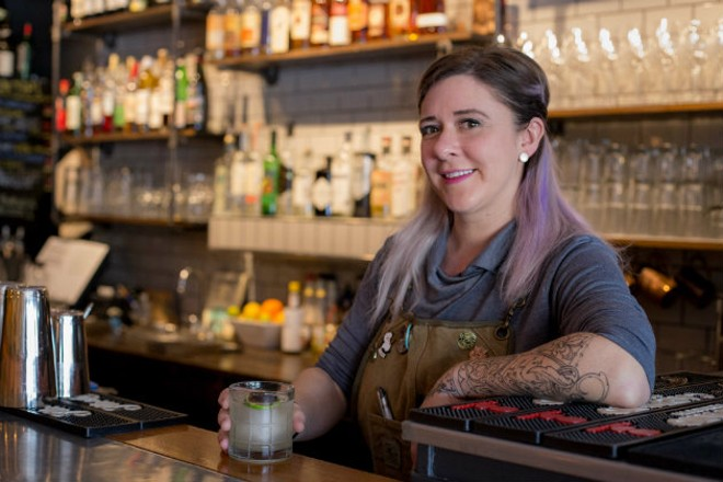 Naomi Roquet is living her dream at Reeds American Table. - MONICA MILEUR