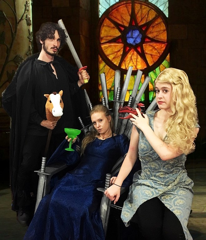 Maintaining your place upon the Nerfen Throne is no easy task when you play the Game of Thrones. - COURTESY OF MAGIC SMOKING MONKEY