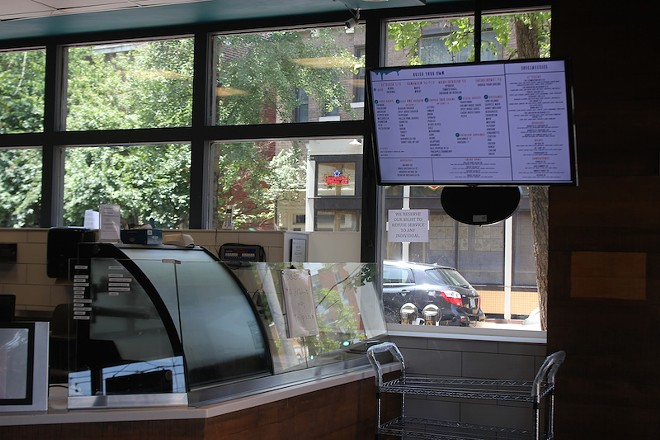 The menu isn't quite as simple as Chipotle's. - SARAH FENSKE