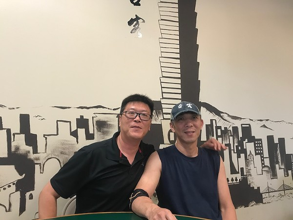 Three years ago, Calvin Koong (left) and Zhenglu Sun opened the city's first Taiwanese restaurant. Now they fear for its future. - ALISON GOLD